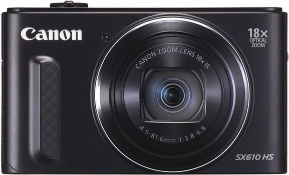Canon PowerShot SX610 HS negro