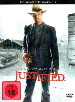 Justified - Die komplette Season 1 bis 5 [15 DVDs]