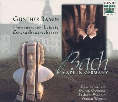 G. Ramin - Bach - Made in Germany Vol. I (Kantaten, Johannes-Passion, Orgelwerke)