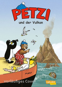 Petzi - Der Comic 1: Petzi und der Vulkan - Thierry Capezzone  [Taschenbuch]