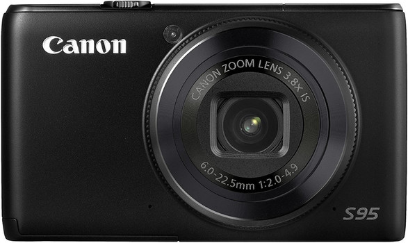 Canon PowerShot S95 negro