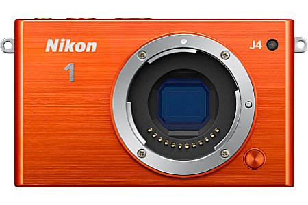 Nikon 1 J4 Systeemcamera oranje