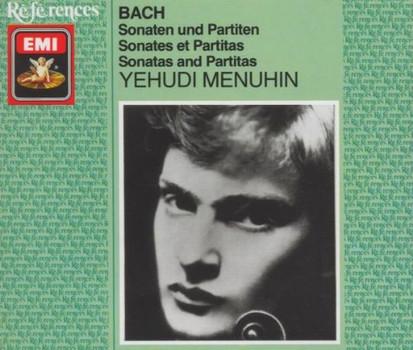 Yehudi Menuhin - Sonaten und Partiten für Violine solo BWV 1001-1006