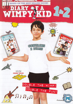 Diary of a Wimpy Kid 1 & 2 [2 DVDs, UK Import]