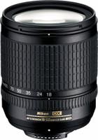 Nikon AF-S DX NIKKOR 18-135 mm F3.5-5.6 ED G IF 67 mm Objetivo (Montura Nikon F) negro