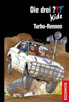 Die drei ??? Kids, 81, Turbo-Rennen - Boris Pfeiffer  [Gebundene Ausgabe]