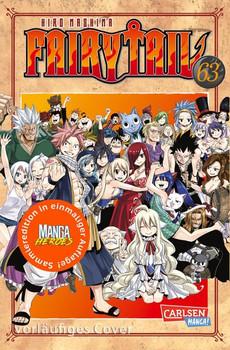 Fairy Tail 63 – Limitierte Edition. mit 44-seitigem Farb-Booklet - Hiro Mashima  [Taschenbuch]