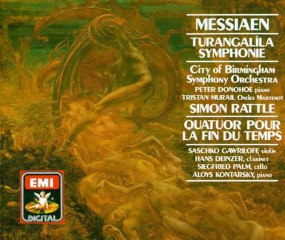 Simon Rattle - Turangalila-Sinfonie / Ende D.Zeit