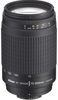 Nikon AF NIKKOR 70-300 mm F4.0-5.6 G 62 mm Obiettivo (compatible con Nikon F) nero