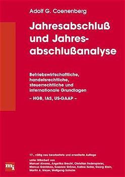 Jahresabschluß und Jahresabschlußanalyse (17. Auflage) - Adolf Gerhard Coenenberg