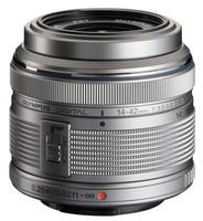 Olympus M.Zuiko Digital 14-42 mm F3.5-5.6 R II 37 mm Objetivo (Montura Micro Four Thirds) plata