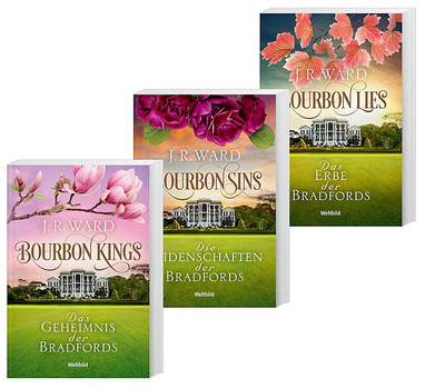 Die Bourbon-Kings-Saga: Band 1-3 - Bourbon Kings / Bourbon Sins / Bourbon Lies - J. R. Ward [3 Bände, Taschenbuch, Weltbild]