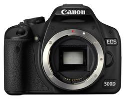 Canon EOS 500D noir
