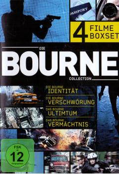 Die Bourne Collection - 4 Filme Boxset [4 DVDs]