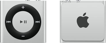 Apple iPod shuffle 4G 2GB zilver [2015]