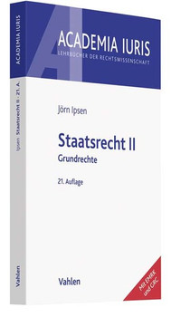 Staatsrecht II. Grundrechte - Jörn Ipsen  [Taschenbuch]