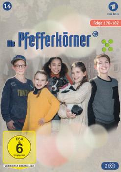 Die Pfefferkörner: Staffel 14 - Folge 170-182 [2 DVDs]