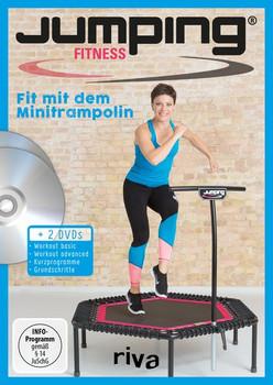 Jumping Fitness – basic & advanced. Fit mit dem Minitrampolin Mit 2 DVDs - Antonia Westphal [Taschenbuch]