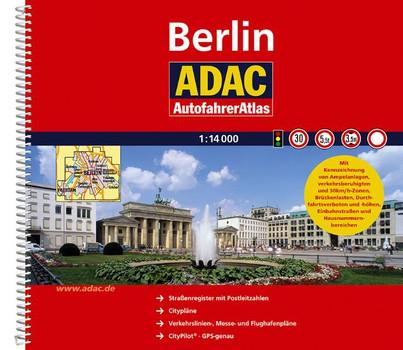 ADAC AutofahrerAtlas Berlin 1:14 000 - ADAC Kartografie