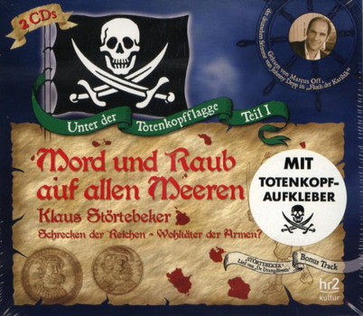 Various - Mord und Raub auf allen Meeren - Klaus Störtebeker - 2 CD Hörbuch & Aufkleber