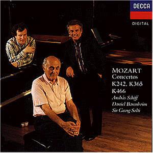 Barenboim - Klavierkonzerte K242, K365, K466
