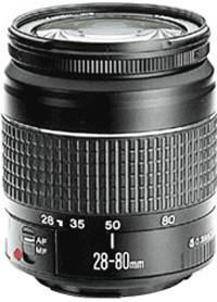 Canon EF 28-80 mm F3.5-5.6 58 mm Objectif (adapté à Canon EF) noir