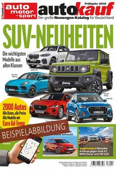autokauf 01/2019. Der große Neuwagen-Katalog für Deutschland [Taschenbuch]