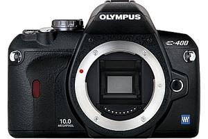 Olympus E-400 Body zwart