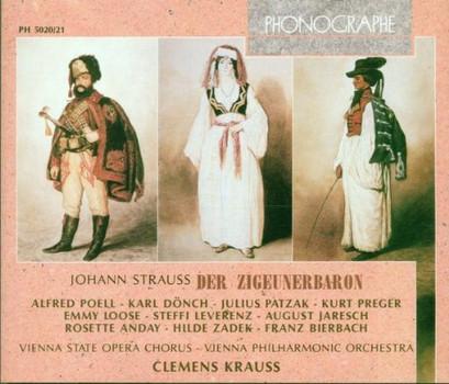 Clemens Krauss - Joh. Strauß: Der Zigeunerbaron (Gesamtaufnahme)