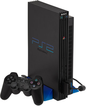 Sony PlayStation 2  [incl. Controller] zwart