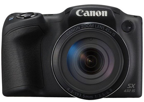 Canon PowerShot SX432 IS zwart
