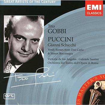 Tito Gobbi - Schicchi,Boccan.& Don Carlo