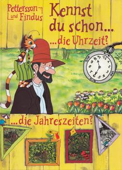Pettersson und Findus: Kennst du schon ...die Uhrzeit? ...die Jahreszeiten? - Bettina Grabis [Gebundene Ausgabe]