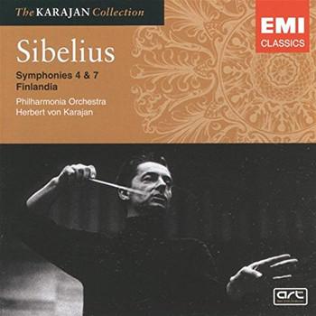 H.V. Karajan - Sinfonie 4+7/Finlandia