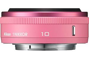 Nikon 1 NIKKOR 10 mm F2.8 40,5 mm Objetivo (Montura Nikon 1) rosa