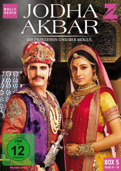 Jodha Akbar - Die Prinzessin und der Mogul [Box 5, Folge 57-70] [3 DVDs]