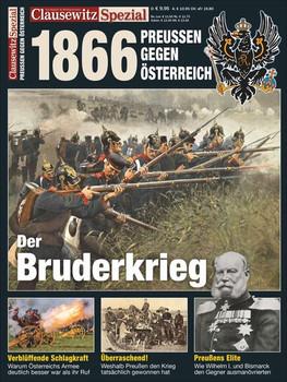 Deutscher Krieg 1866. Clausewitz Spezial 24 - Stefan Krüger  [Taschenbuch]