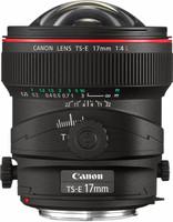 Canon TS-E 17 mm F4.0 L 72 mm Objetivo (Montura Canon EF) negro