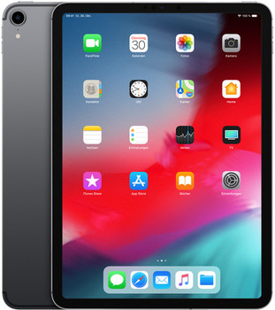 "Apple iPad Pro 11"" 256GB [wifi + cellular, model 2018] spacegrijs"