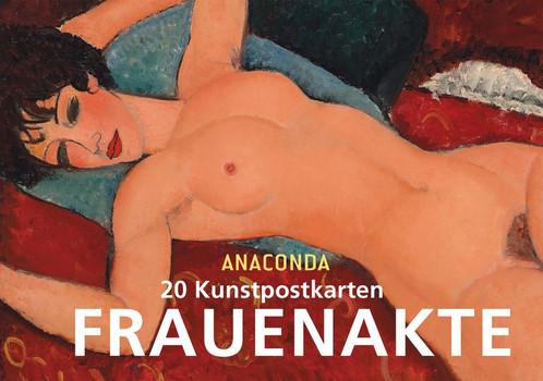 Postkartenbuch Frauenakte - Anaconda  [Taschenbuch]