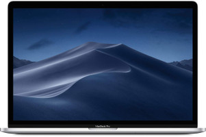 "Apple MacBook Pro met touch bar en touch ID 15.4"" (True Tone retina-display) 2.6 GHz Intel Core i7 16 GB RAM 256 GB SSD [Mid 2019, QWERTY-toetsenbord] zilver"