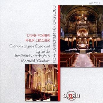 Sylvie Poirier - Kompositionen für Orgelduo