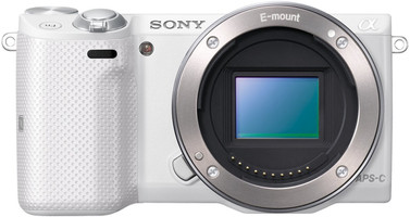 Sony Alpha NEX-5T body bianco