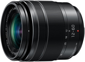 Panasonic  Lumix G VARIO 12-60 mm F3.5-5.6 ASPH. POWER O.I.S. 58 mm filter (geschikt voor Micro Four Thirds) zwart