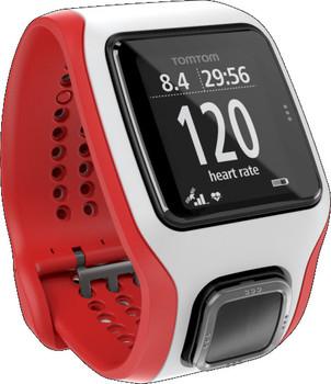 TomTom Multi-Sport Cardio blanc et rouge