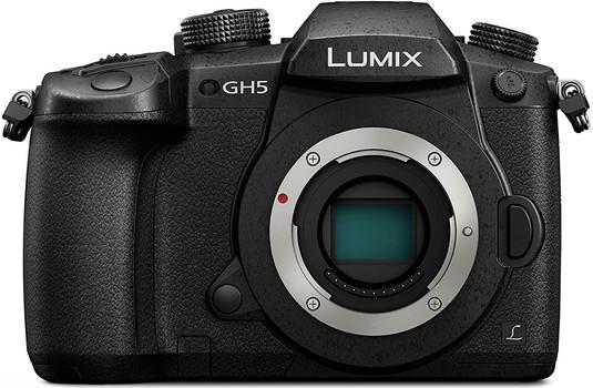 Panasonic Lumix DC-GH5EG body zwart