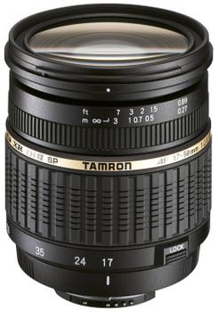 Tamron SP AF 17-50 mm F2.8 ASL Di IF LD XR II 67 mm Obiettivo (compatible con Pentax K) nero
