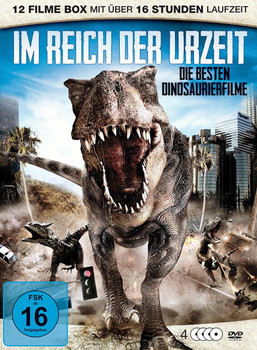 Im Reich der Urzeit: Die besten Dinosaurierfilme [4 Discs]