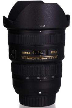 Nikon AF-S NIKKOR 18-35 mm F3.5-4.5 ED G 77 mm Obiettivo (compatible con Nikon F) nero