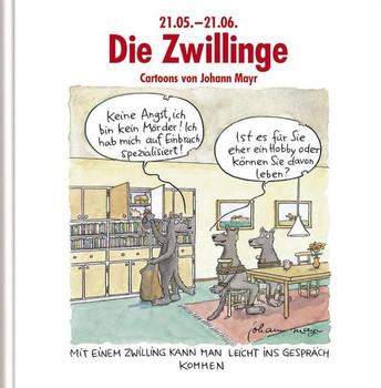 Die Zwillinge: Cartoon-Geschenkbuch